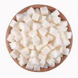 Zucchero raffinato Immagini Stock