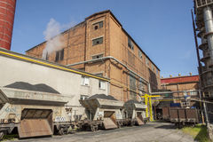 Zucchero-raffineria Fotografia Stock