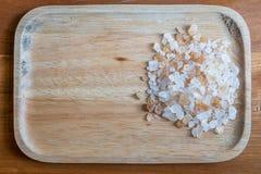 Zucchero schiacciato Fotografia Stock