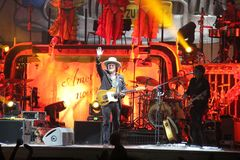 Zucchero sugar fornaciari tour session cubana Stock Photography