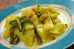 Zucchine in umido Stock Image