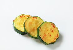 zucchini зажаренного лотка Стоковая Фотография RF