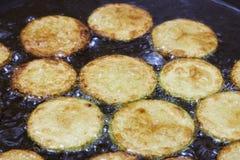 zucchini зажаренный баклажаном Стоковая Фотография RF