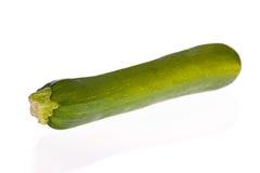 zucchini изолированный courgette белый Стоковые Фото