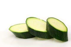 zucchini отрезока courgette Стоковое фото RF