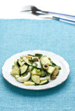 zucchini салата оливок яичка Стоковая Фотография RF