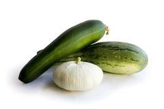 zucchini сердцевины Стоковое Фото