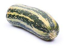 Zucchini. Image series of fresh vegetables on white background - zucchini Royalty Free Stock Photography