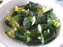 zucchini Fotografía de archivo libre de regalías