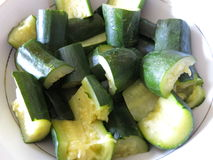 zucchini Obraz Stock
