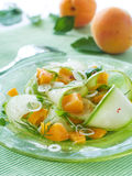Zucchini appetizer Stock Photo