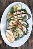 Zucchini arrostito fotografie stock