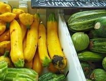 Zucchini auf Anzeige Stockbild