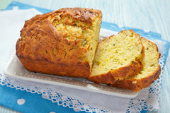 Zucchini bread Royalty Free Stock Image