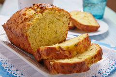 Zucchini bread Stock Images