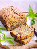 Zucchini bread Stock Photos