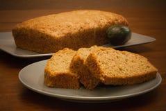Zucchini-Brot Stockfotografie