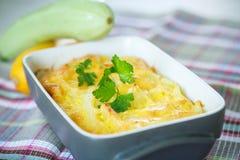 Zucchini casserole Stock Images