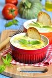 Zucchini casserole. Royalty Free Stock Photos