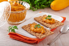 Zucchini caviar Stock Photos