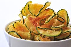Zucchini chips Royalty Free Stock Photography