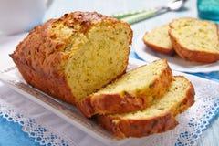 Zucchini chleb Obraz Stock