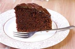 Zucchini chocolate cake Stock Photos