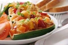 Zucchini cotti. Immagine Stock
