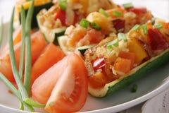 Zucchini cotti. Fotografie Stock
