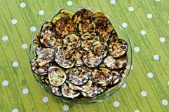 Zucchini cotto Fotografia Stock