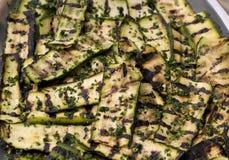 Zucchini cotto Immagini Stock