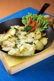 Zucchini cotto con formaggio Fotografie Stock Libere da Diritti