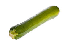 Zucchini or courgette isolated Royalty Free Stock Photo