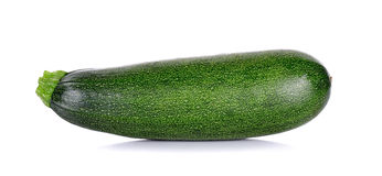 Zucchini courgette isolated on the white background Stock Photography