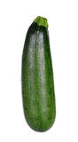 Zucchini courgette isolated on the white background Royalty Free Stock Images