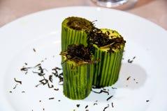 Zucchini cozinhado Fotografia de Stock Royalty Free