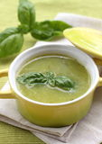 Zucchini Cream Soup Stock Photos