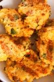 Zucchini croquettes Stock Photo