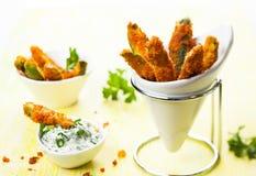 Zucchini dłoniaki Zdjęcia Stock