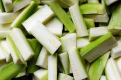 Zucchini della zucca Immagine Stock