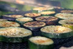 Zucchini and eggplant barbecue Royalty Free Stock Photography