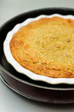 Zucchini and eggplant souffle Stock Images