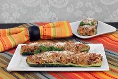 Zucchini enchido Imagens de Stock Royalty Free