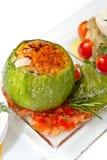 Zucchini enchido Foto de Stock Royalty Free