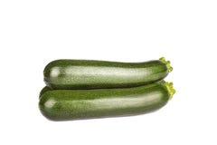 Zucchini för ny grönsak som isoleras på vit Royaltyfri Fotografi