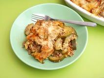 Zucchini freschi con le tagliatelle Immagine Stock Libera da Diritti