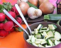 Zucchini fresco Fotografie Stock