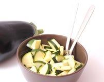 Zucchini fresco Immagini Stock
