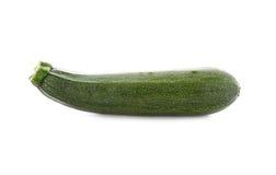 Zucchini fresco isolato su bianco Fotografia Stock Libera da Diritti