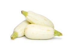 Zucchini fresco tre Fotografie Stock